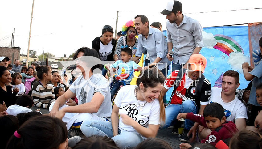 Brilló la fiesta de la Niñez en el Barrio San Cayetano 7