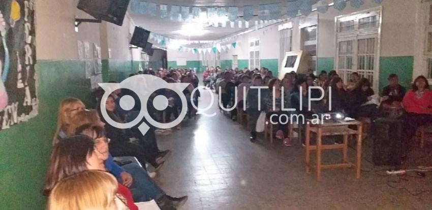 Reunión informativa de Fundación A.L.C.O. en Quitilipi 5