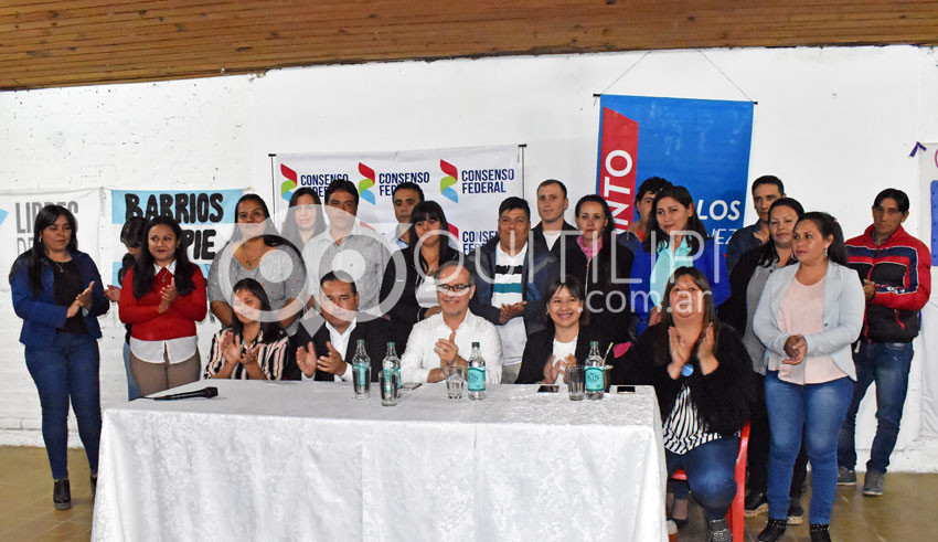 Consenso Federal, apoya la candidatura de Héctor Benítez intendente 3