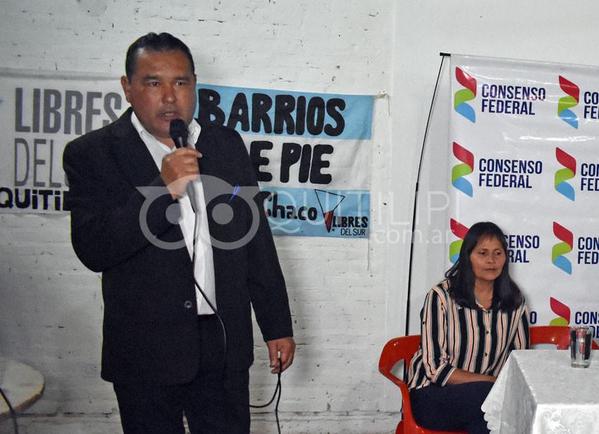 Consenso Federal, apoya la candidatura de Héctor Benítez intendente 5