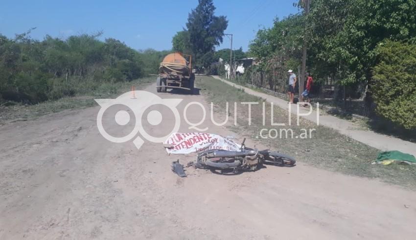 El Palmar. Una joven muere en accidente de tránsito 3