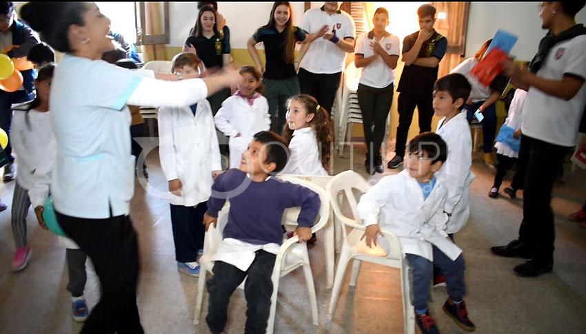 U.E.G.P. Nº 22. Despidieron el mes del Niño invitando a pequeños de la escuela 187 y CIF 4 13