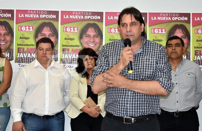 Elio Javanovich presentó su lista de Concejales 5