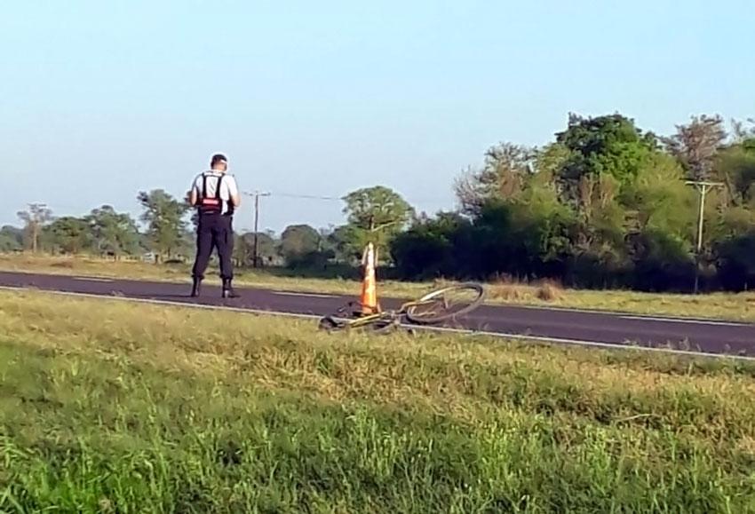 El ciclista arrollado por una moto el domingo resultó ser vecino del Barrio San Cayetano 3