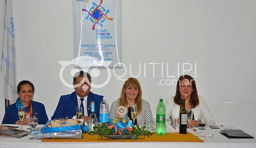 El gobernador de Rotary Internacional Distrito 4845 visitó Quitilipi 5
