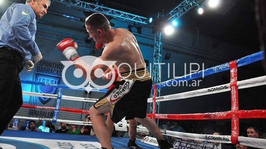 Lovera tumbó a Chespi y se  consagró campeón de los Supermedianos 1