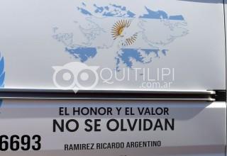 Sentido homenaje al soldado Ricardo Argentino Ramírez 43