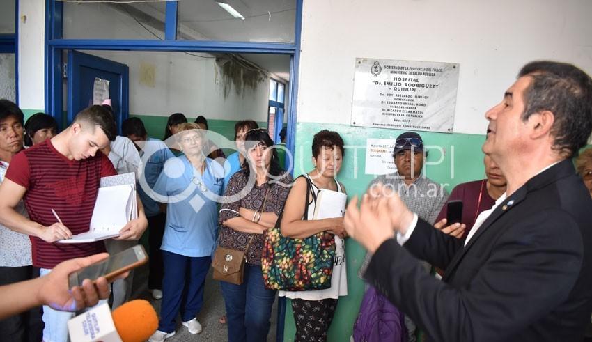 "Hospital ""Dr. Emilio Rodríguez"": positiva charla sobre diabetes 1"
