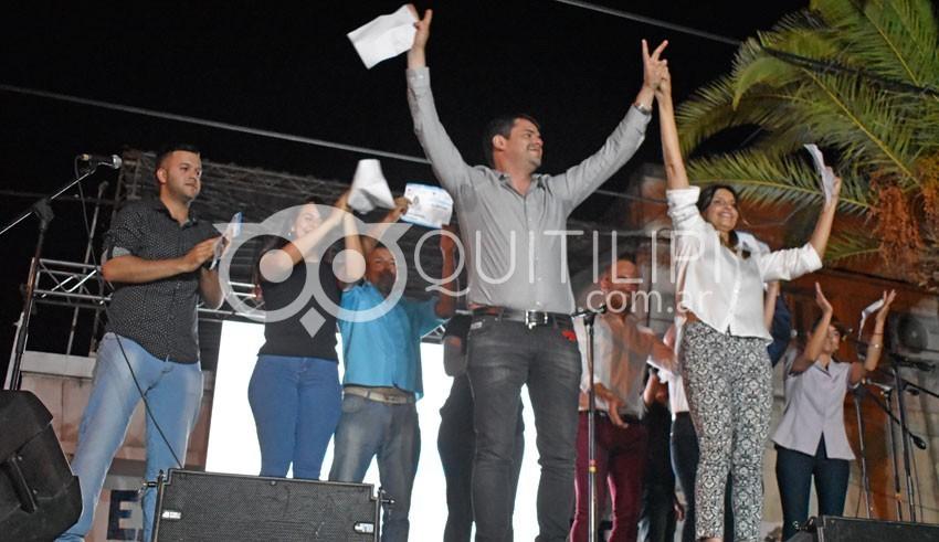 Baricheval cerró la campaña con un eufórico y comprometido discurso 1