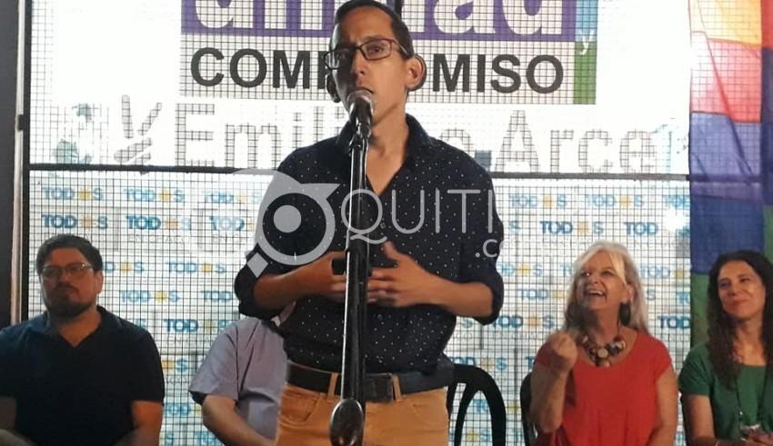 Cierre de campaña: firme apoyo de Pilatti Vergara a la lista de Emiliano Arce 1
