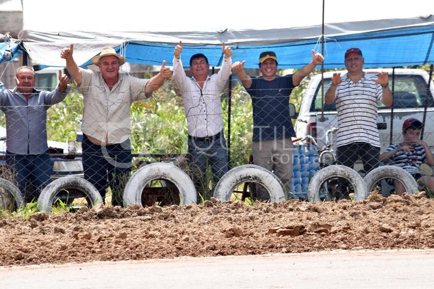 Una multitud presenció la fecha coronación del campeonato Provincial de Karting y motos 110 en piso de Tierra 53