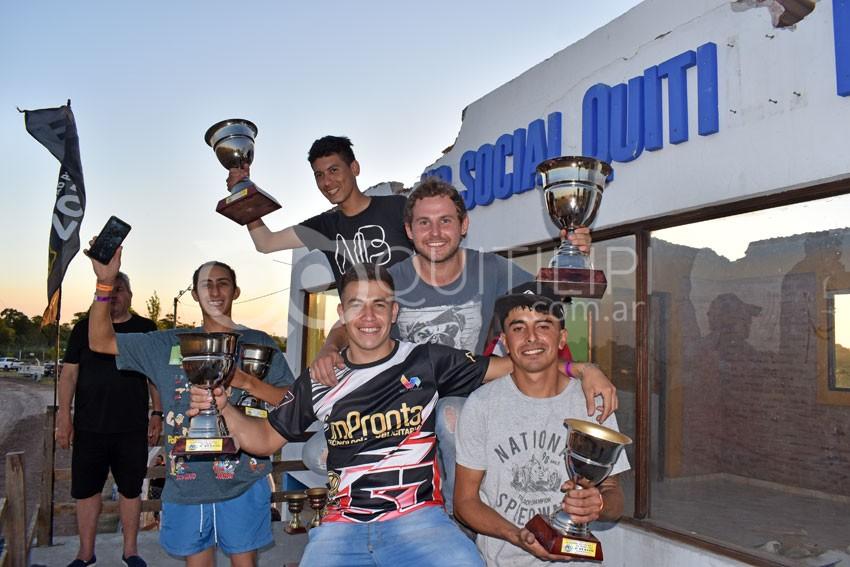 Una multitud presenció la fecha coronación del campeonato Provincial de Karting y motos 110 en piso de Tierra 23