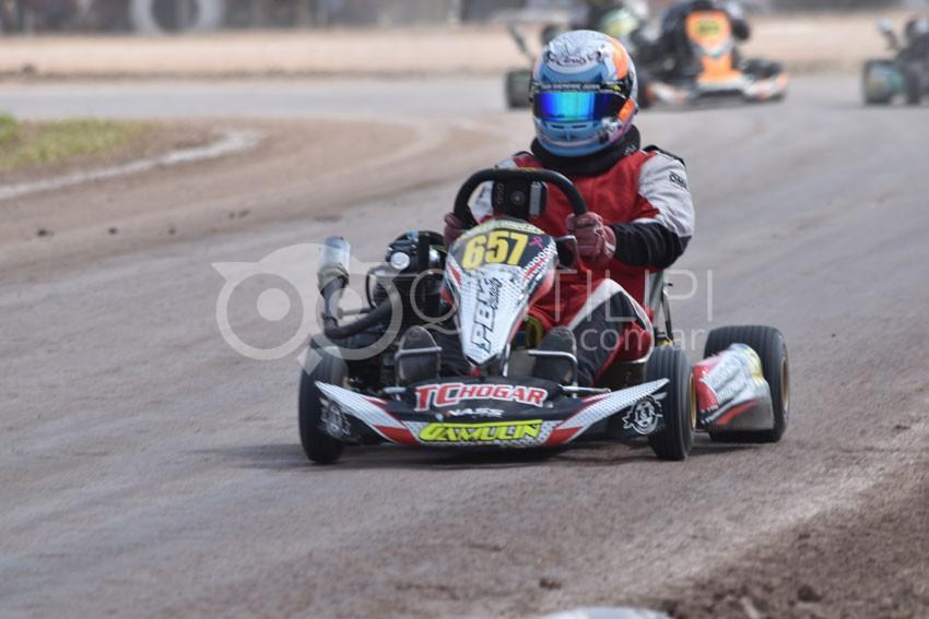Una multitud presenció la fecha coronación del campeonato Provincial de Karting y motos 110 en piso de Tierra 48