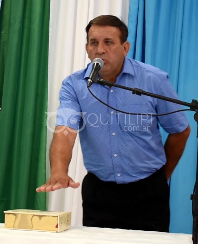 Reynaldo Ariel Lovey es el nuevo intendente de Quitilipi 21
