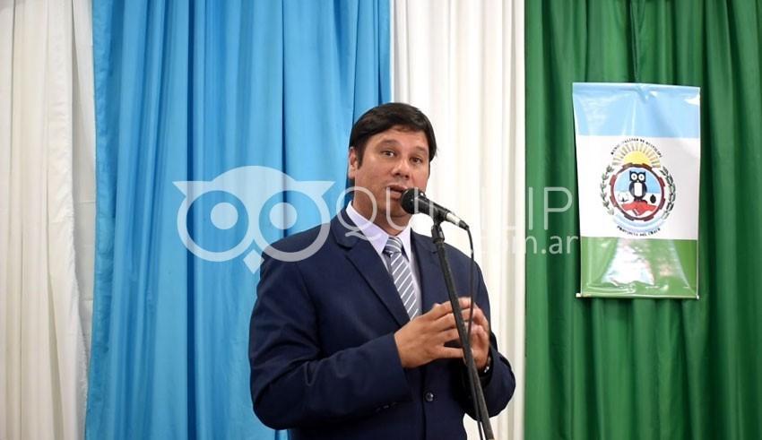 Reynaldo Ariel Lovey es el nuevo intendente de Quitilipi 11