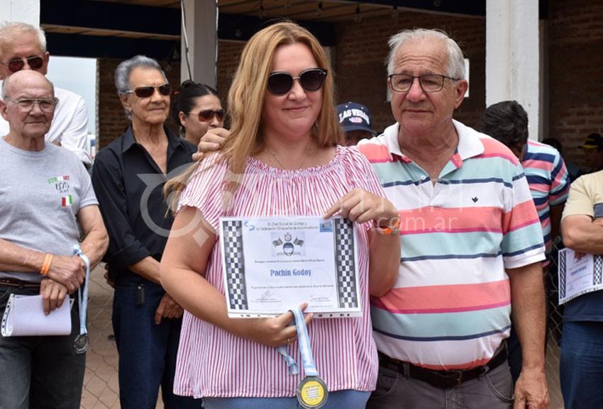 Lo que dejó el homenaje a ex pilotos del automovilismo quitilipense 92