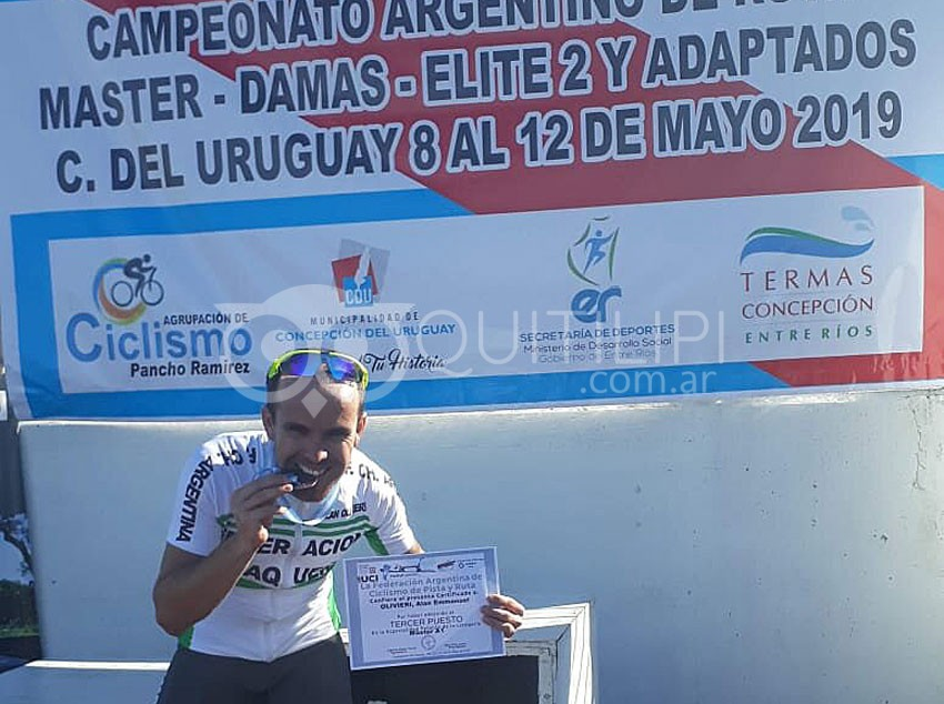 ¡Histórico!, quitilipense ganó cinco medallas en Panamericano de Ciclismo 5
