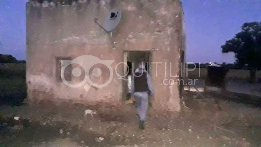 Triste suceso en Pampa Esperanza, manipulando una escopeta fusiló a su primo 6