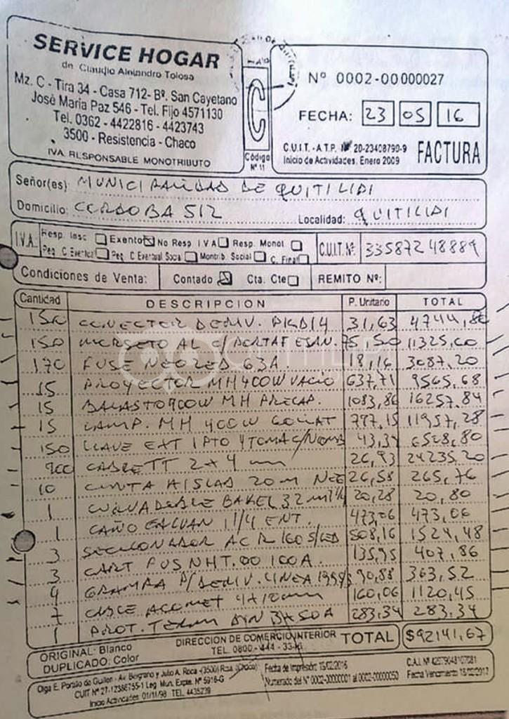 Gendarmería allanó la municipalidad de Quitilipi 9