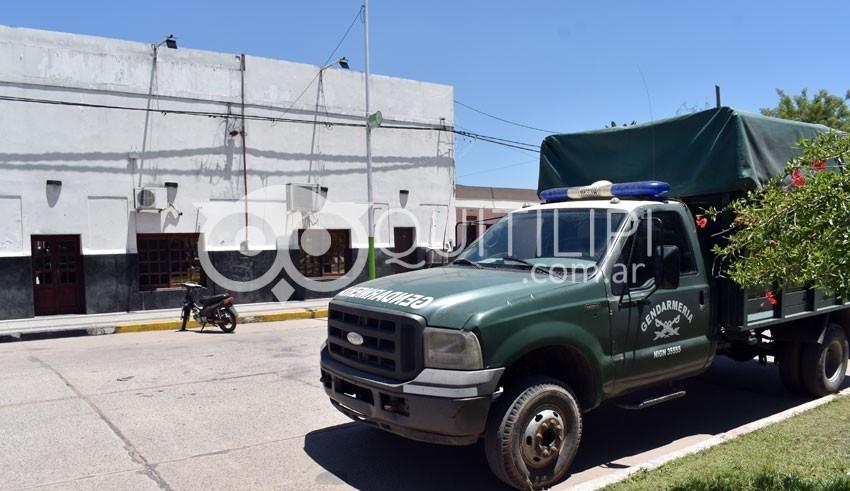 Gendarmería allanó la municipalidad de Quitilipi 14