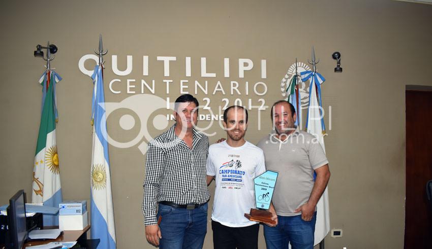 Merecido reconocimiento al doble Campeón Panamericano 1