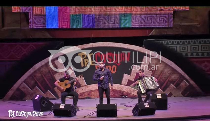 """Pre Cosquín 2020. Lucas Romero dejó todo en el escenario """"Atahualpa Yupanqui"""" 8"""