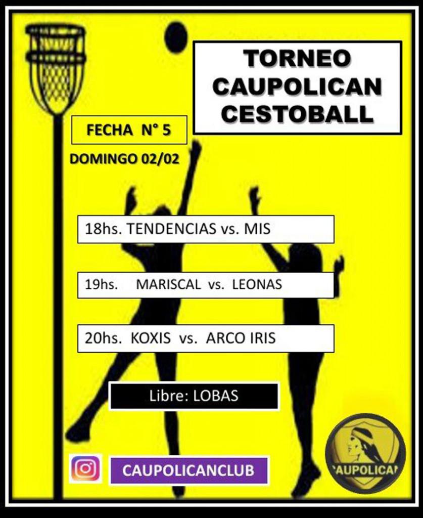CESTOBALL. Avanza el Torneo de Verano, este domingo se juega la 5º 6
