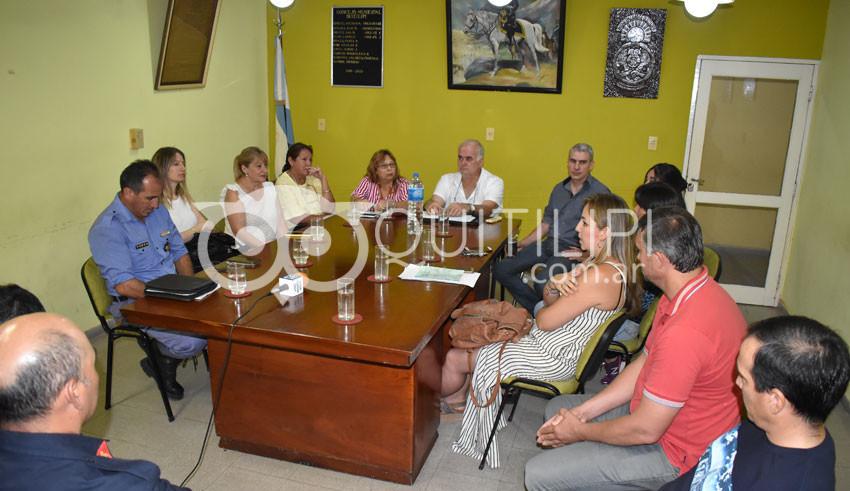 Avanza la conformación del Consejo Municipal de Seguridad 2