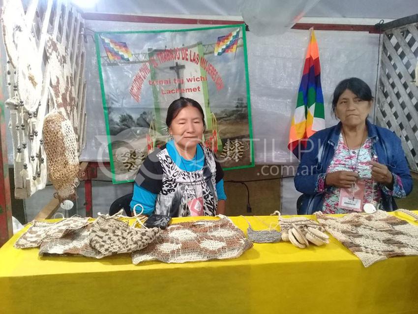 Artesanos chaqueños deslumbran con sus trabajos en Colón Entre Ríos 7