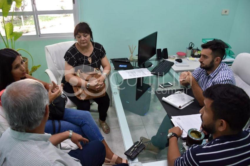 El Instituto del Deporte se comprometió en apoyar el cestoball del Chaco 6