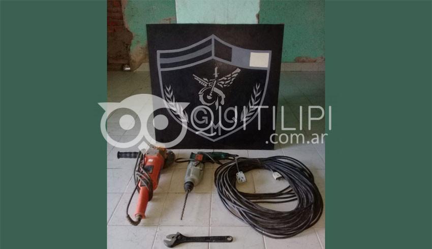 El GMQ recuperó varias herramientas industriales 4