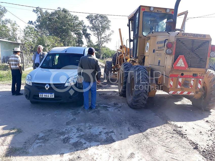 Intensos trabajos de saneamiento y descacharrado en los barrios 18