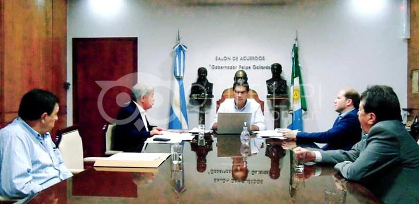 Positiva reunión de Bomberos con el Gobernador Capitanich 4