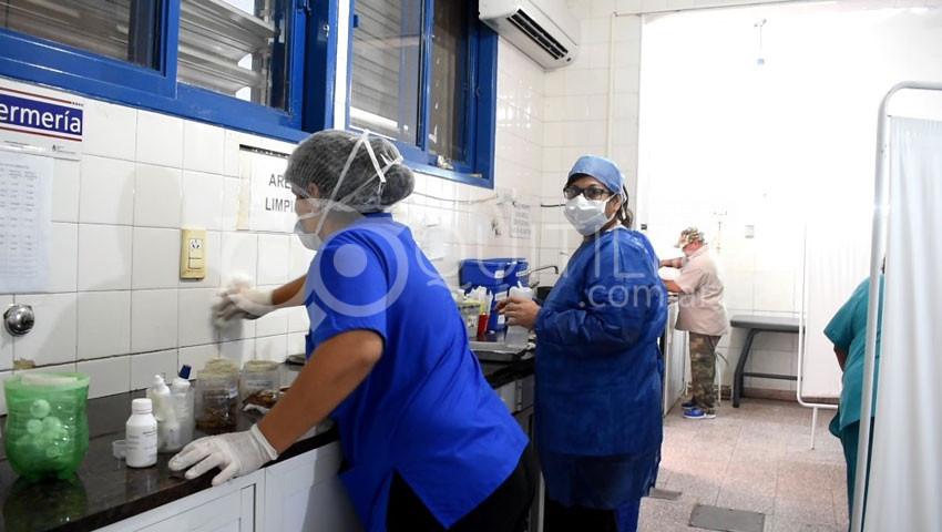 Hospital de Quitilipi. Le pedimos a la comunidad que tome conciencia y se queden en la casa 5
