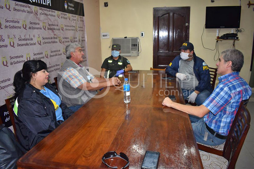 En Quitilipi Gendarmería, Policía Federal y Provincial harán cumplir el protocolo de aislamiento 3