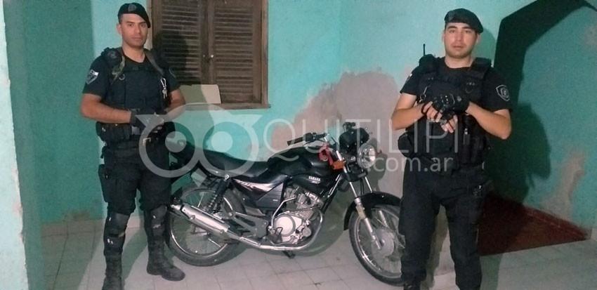 Recuperan una moto robada en Sáenz Peña hace cinco años 2