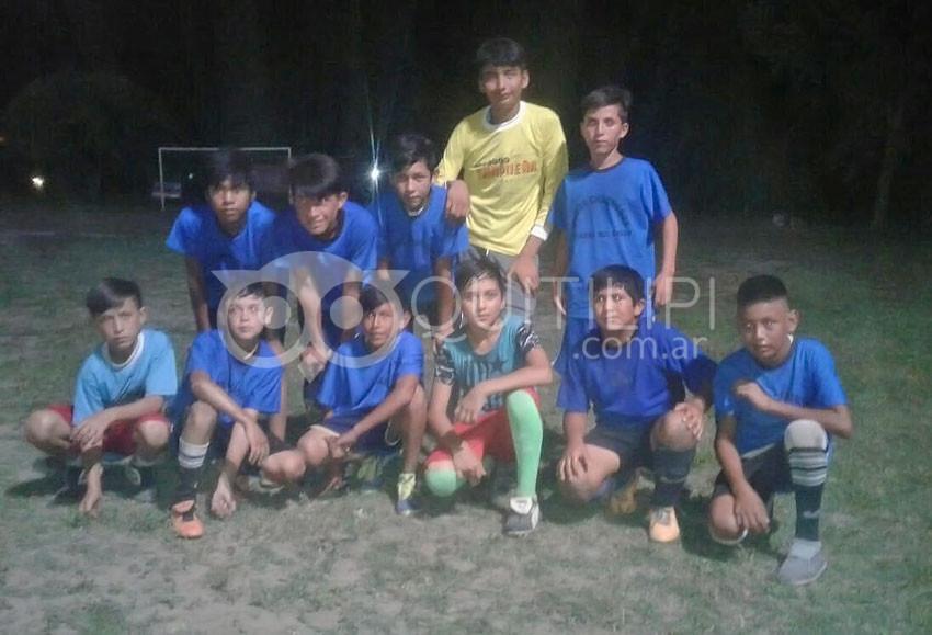 Atlético Aborigen Campeón en infantiles 21