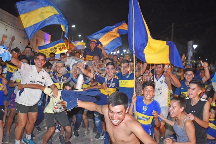 En Quitilipi, el festejo del Boca Campeón 16