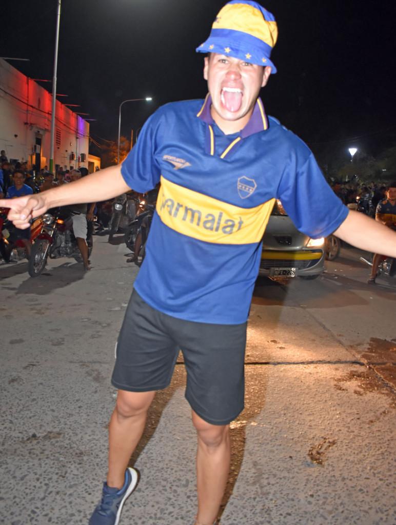 En Quitilipi, el festejo del Boca Campeón 17