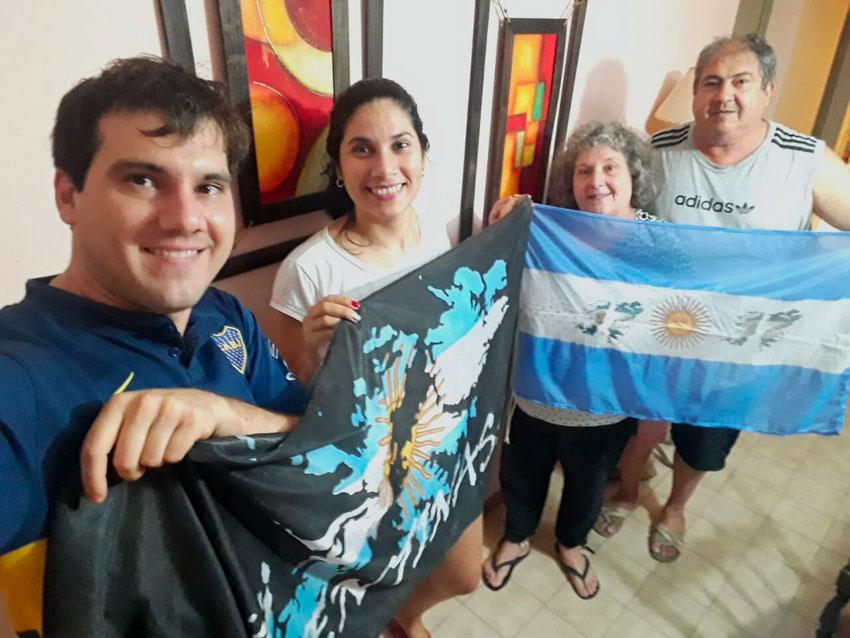 A 38 años de Malvinas. Ex combatientes recibieron la fecha aislados en sus domicilios 8
