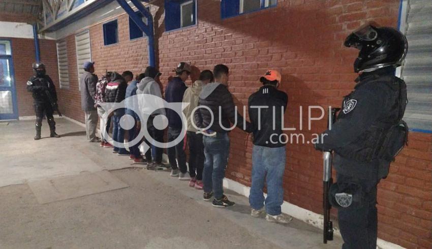 En Quitilipi se superaron los doscientos cincuenta detenidos por violar la cuarentena 5
