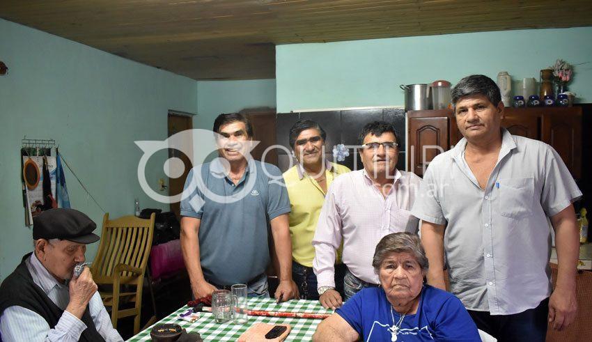 Los Machuca celebraron los 90 años de Doña Ricarda 2