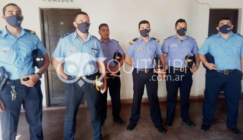 DÍA DE LA POLICÍA. Colonia Aborigen reconoció el trabajo de la fuerza en su pueblo 4