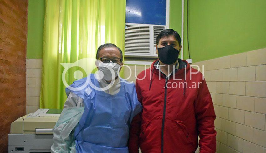 El médico Horacio Gastaldo, asumió la dirección del Hospital en Quitilipi 10