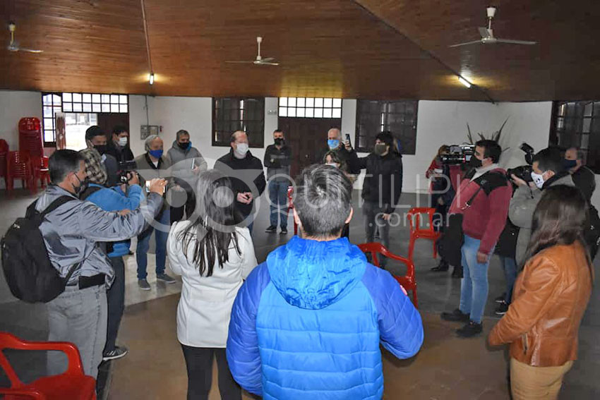 Al reclamo de instituciones, el gobierno se comprometió a trabajar por la paz social en Quitilipi 6