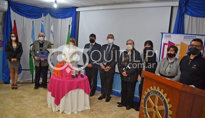 Con sueños compartidos Alfredo Acuña asumió la presidencia de Rotary Club 6