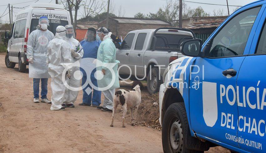 COVID-19. Fuerte operativo de salud pública, rastrean contactos en varios barrios 7