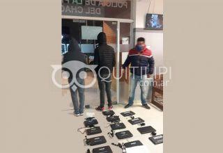 Dos detenidos de Quitilipi por el robo de computadoras en un colegio de Machagai 4
