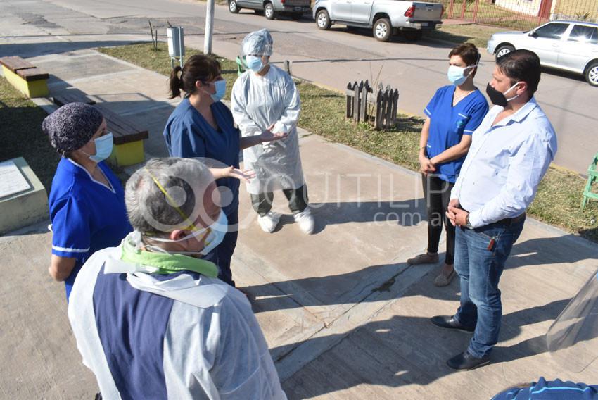 El Plan Detectar realizó hisopados en Quitilipi 9