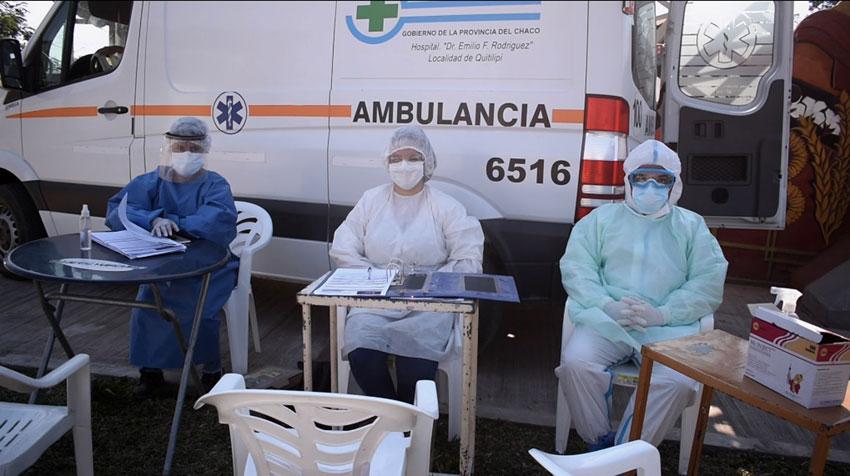 El Plan Detectar realizó hisopados en Quitilipi 10